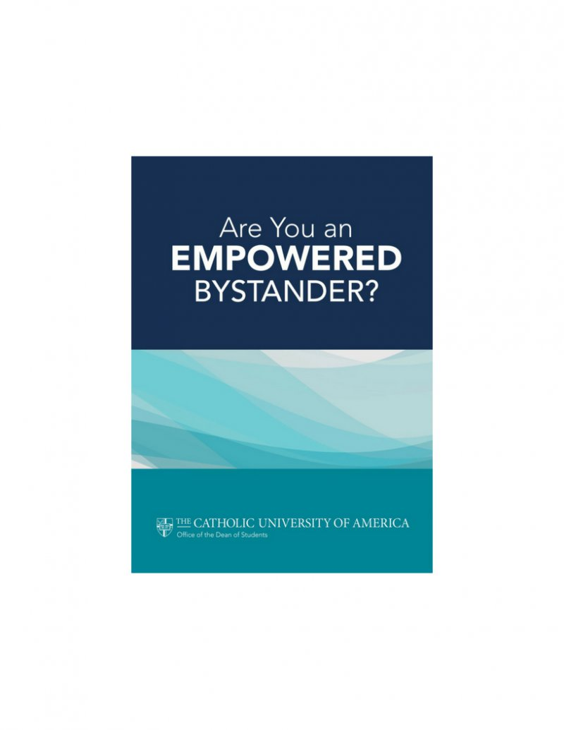 Are your an empowered bystander brochure cover